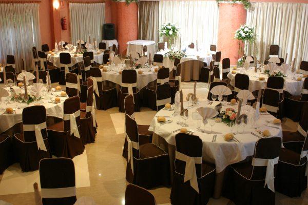 Restaurante Casamar Salón Cantábrico mesas