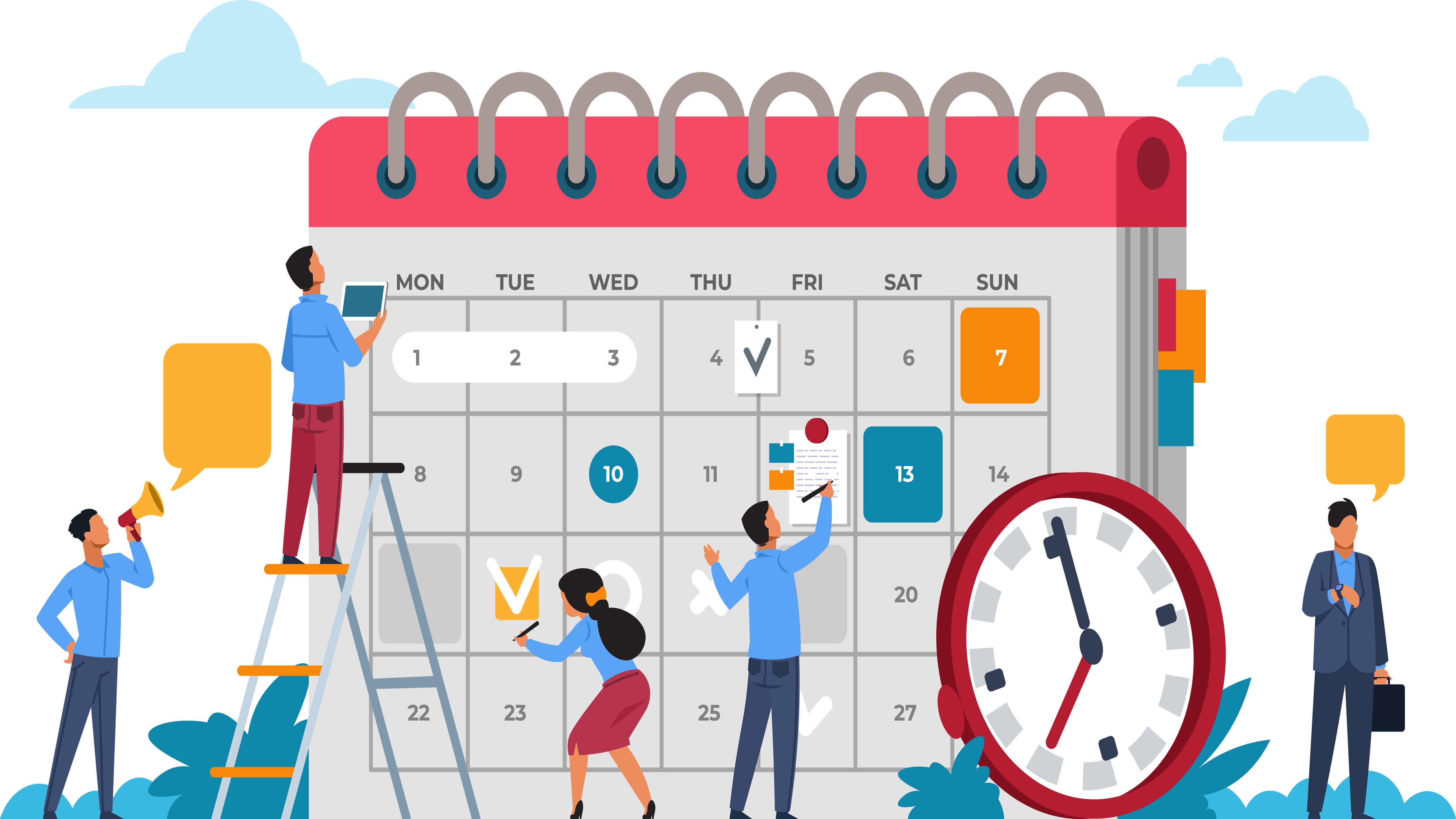 ¿Cómo organizar un evento con menos estrés?